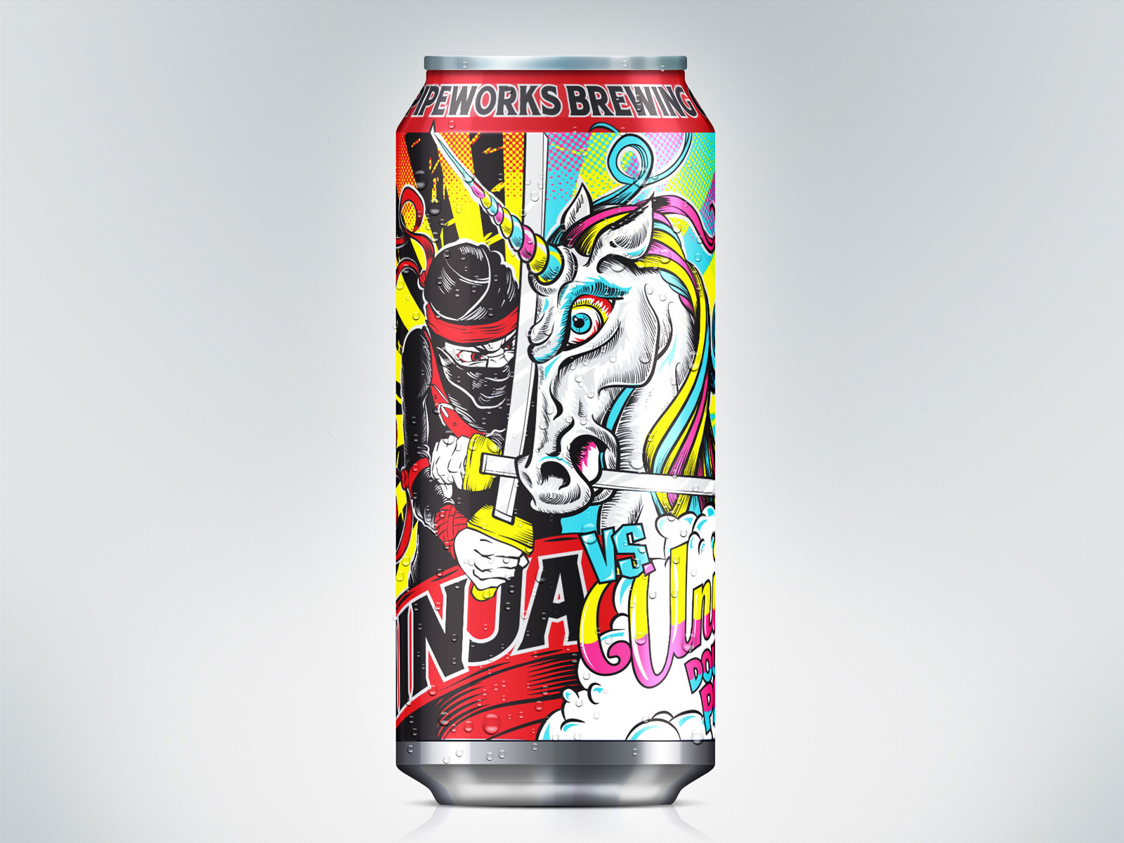 Pipeworks Ninja vs. Unicorn (Double IPA) – Chicago, IL