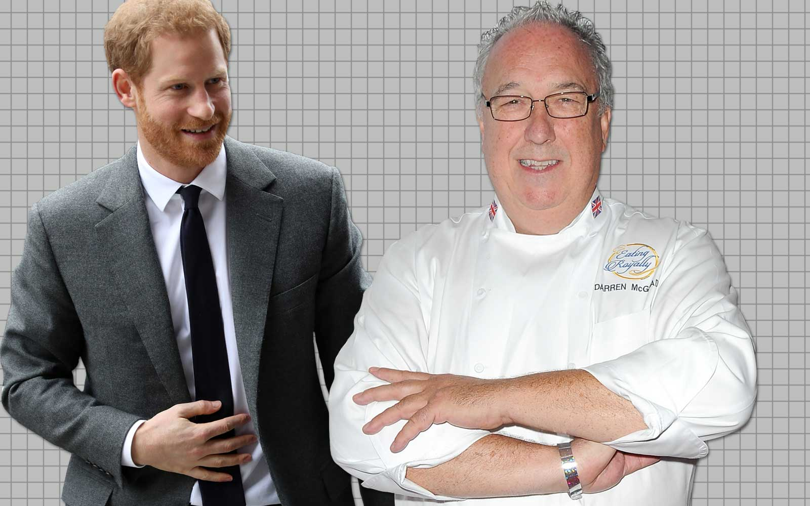 Prince Harry and Chef Darren McGrady