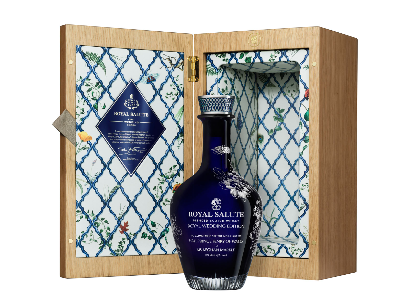 Royal Salute $10,000 Royal Wedding Whisky