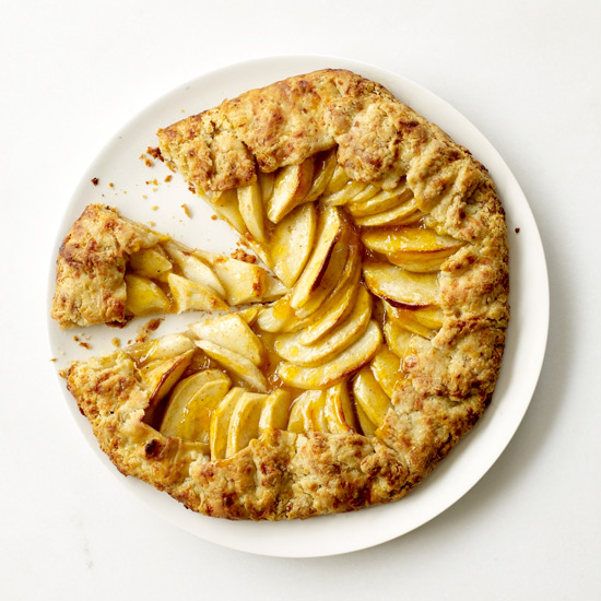 Apple Crostatas