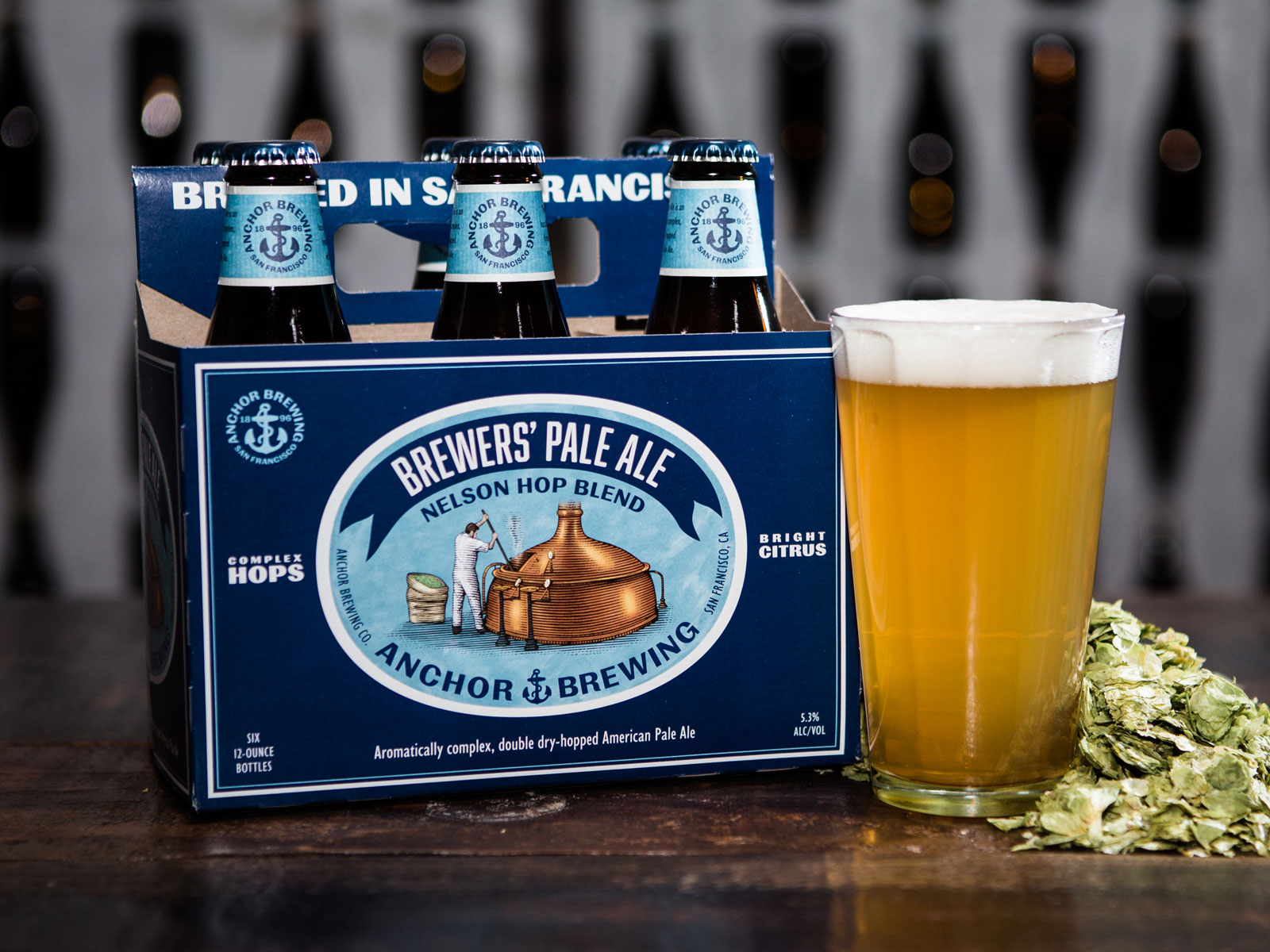 Brewers' Pale Ale (Nelson Hop Blend) by Anchor Brewing