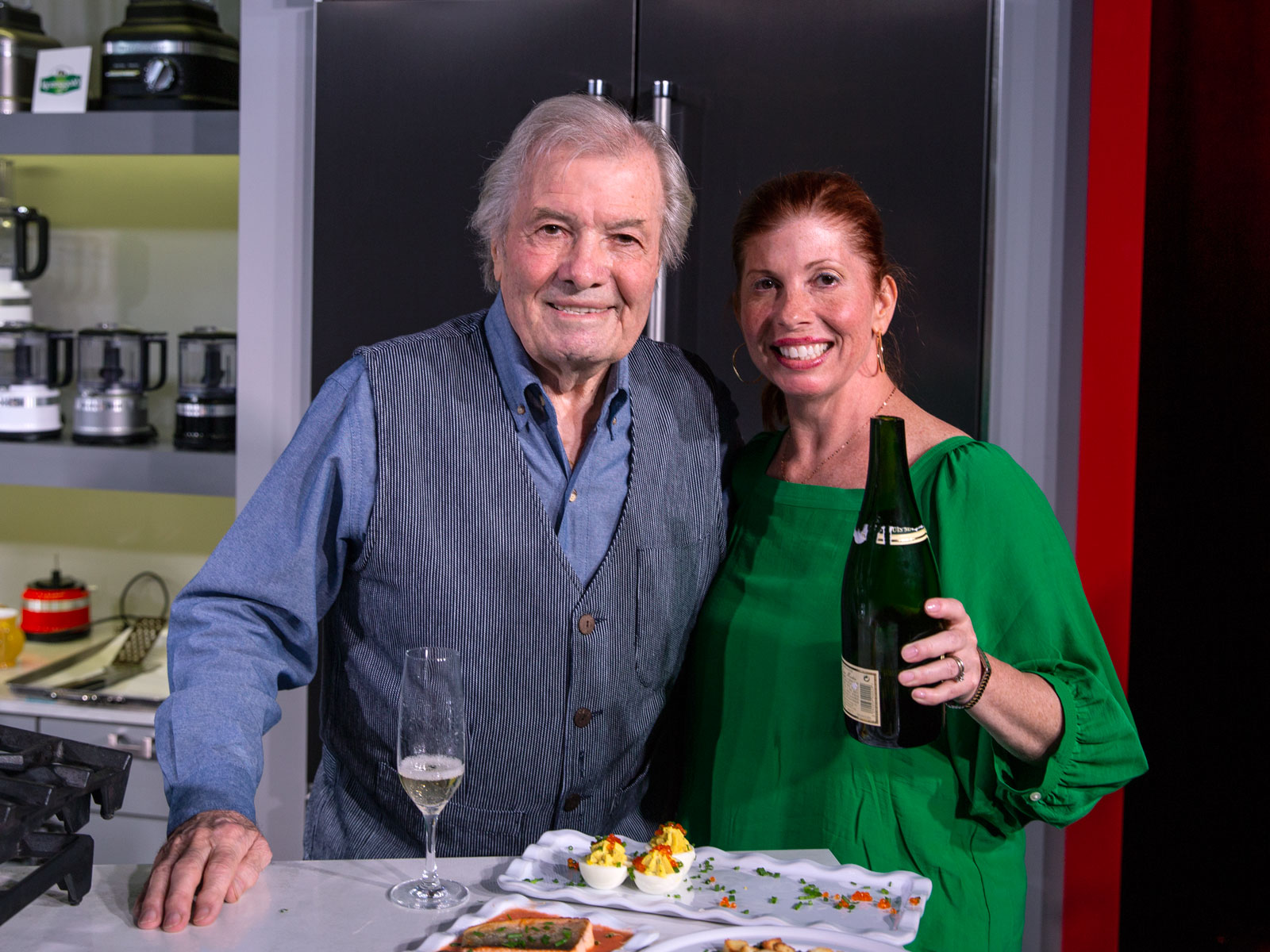 Jacques & Claudine Pepin