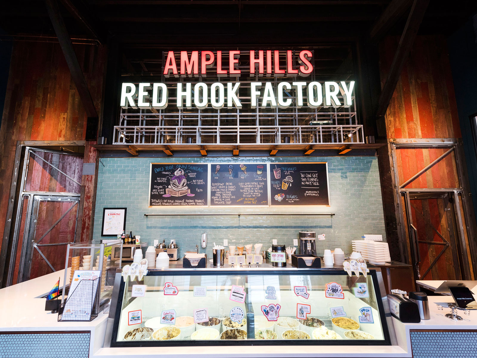 Ample Hills Red Hook Factory