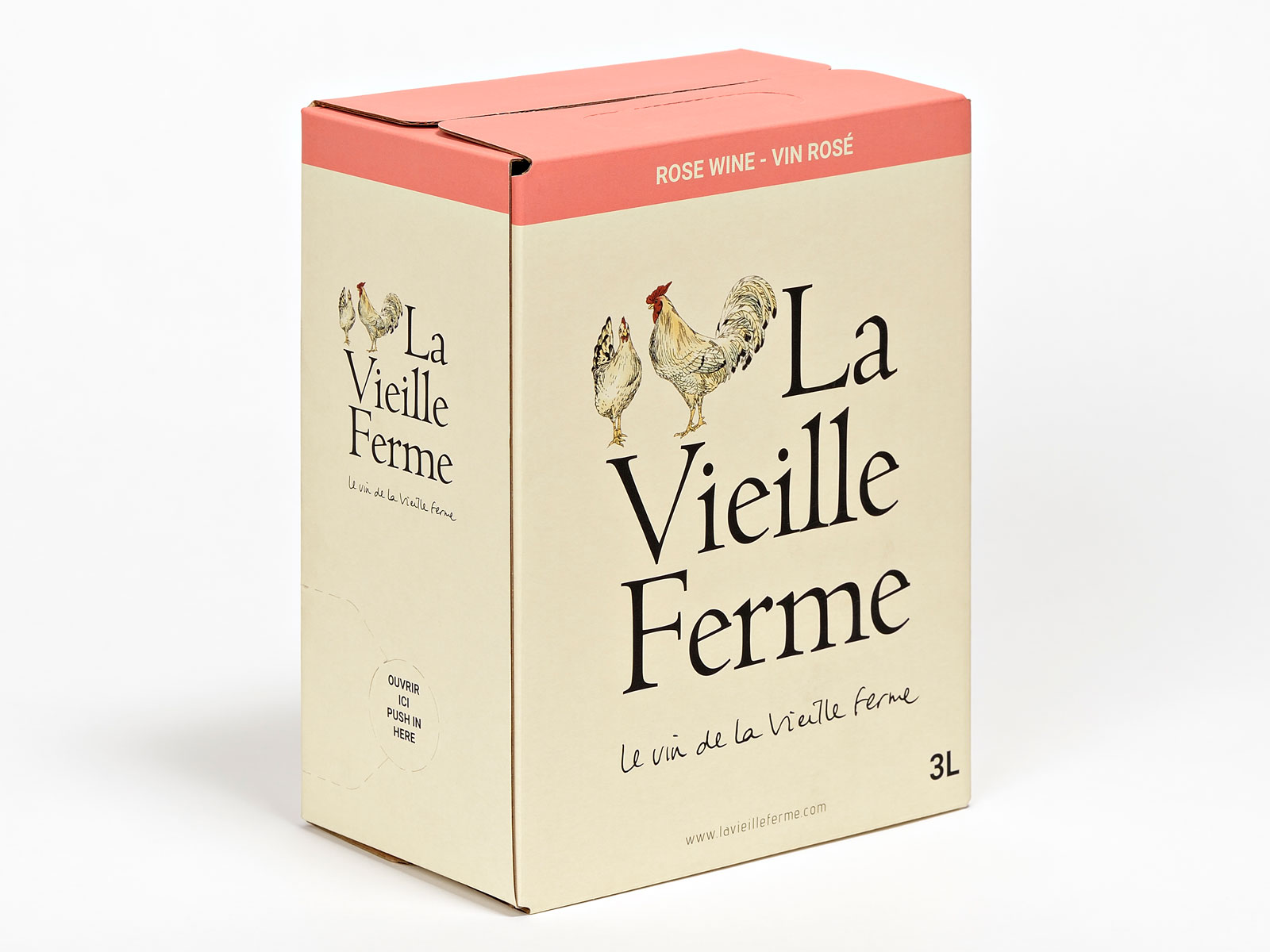 La Vieille Ferme Rose Wine