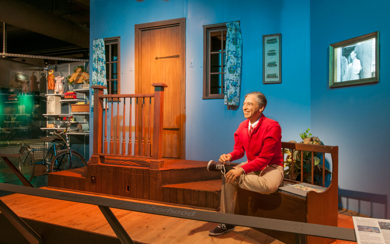 """The """"Mister Rogers' Neighborhood"""" exhibit at the Senator John Heinz History Center houses the largest collection of original items from the show's set."""