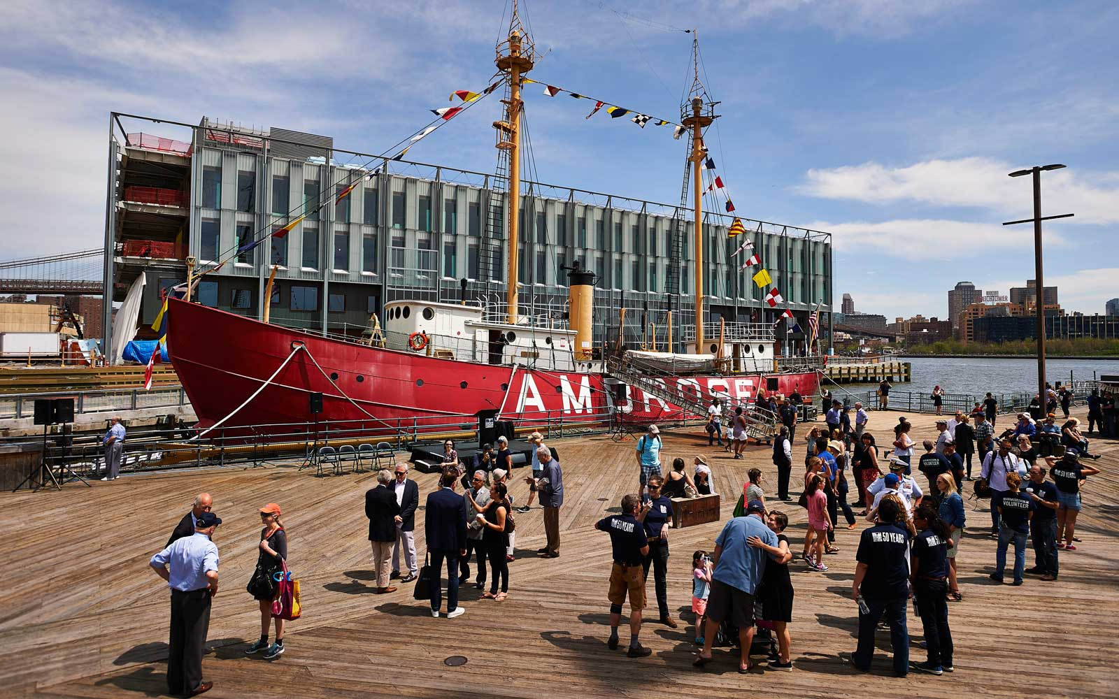 New York City, South Tree Seaport