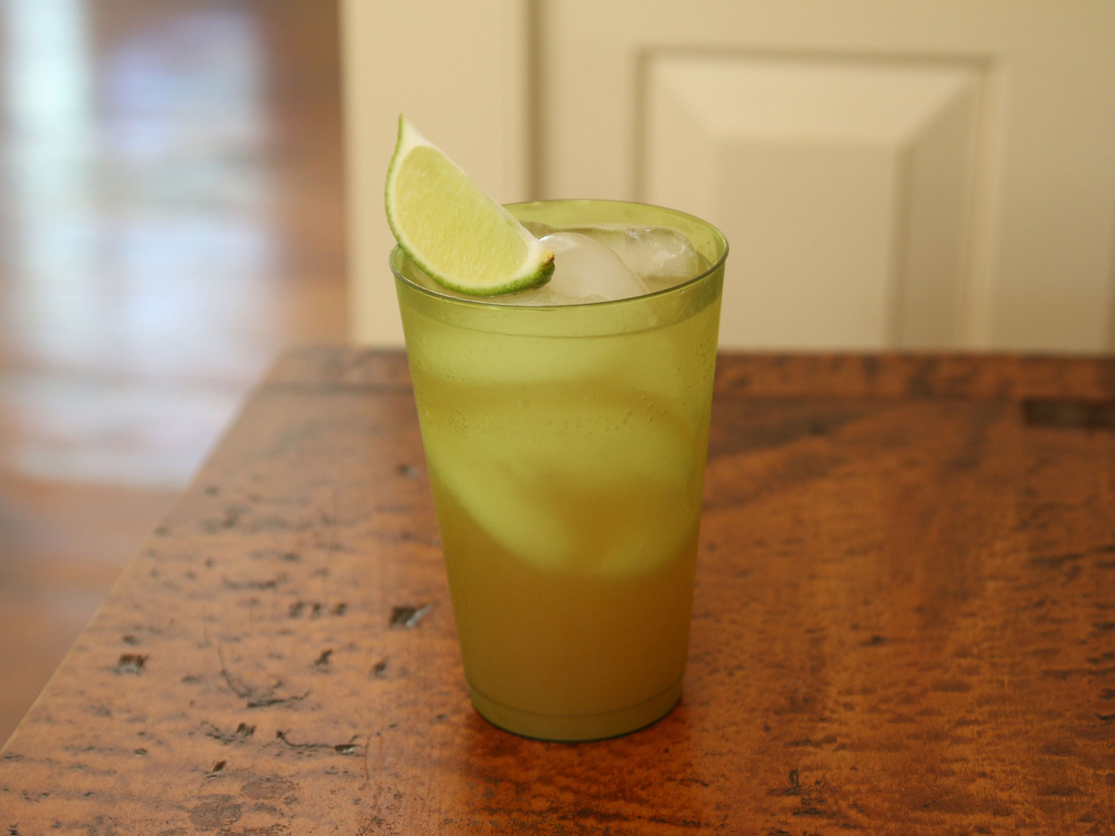 Rum, Ginger, and Apricot