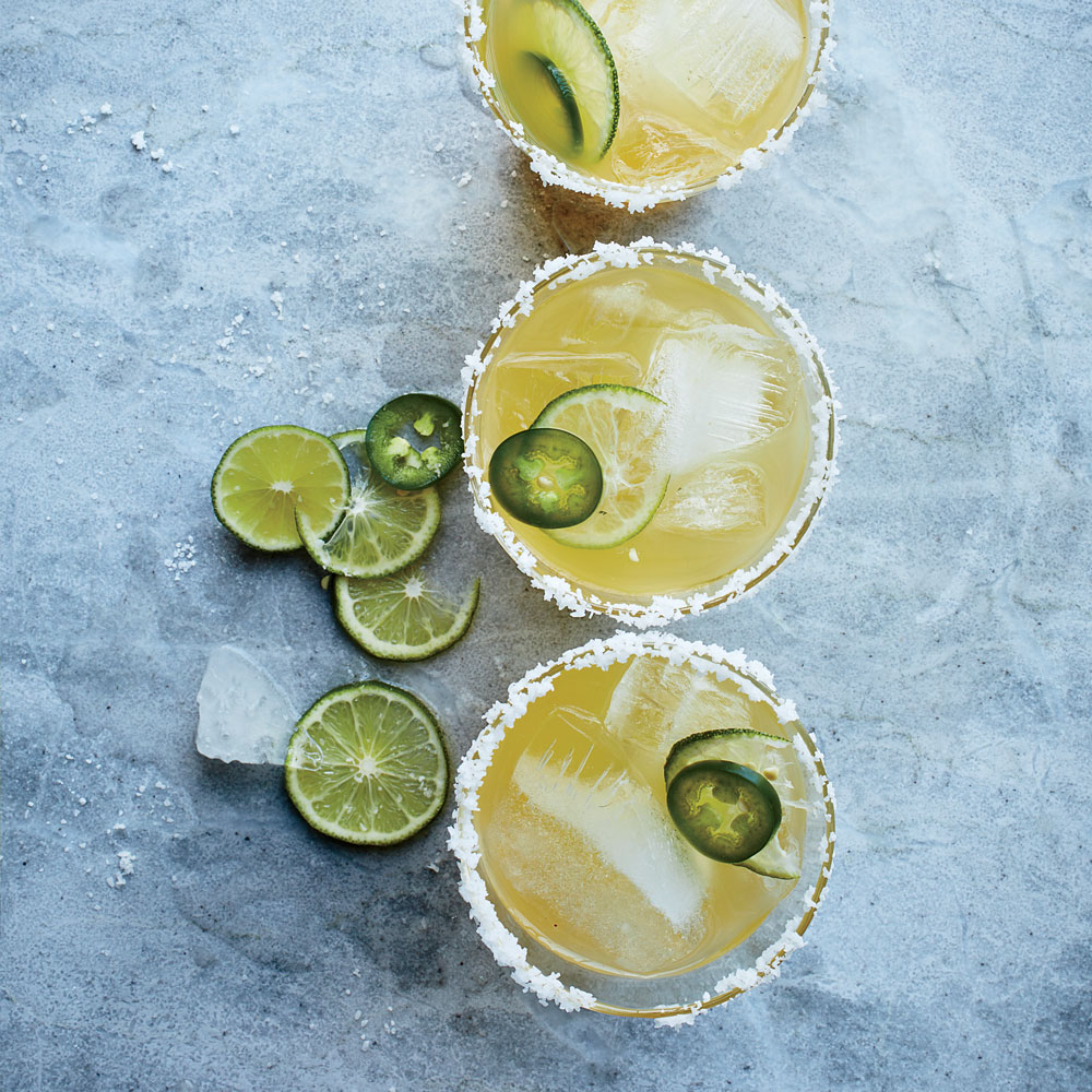 Spicy Margarita Punch