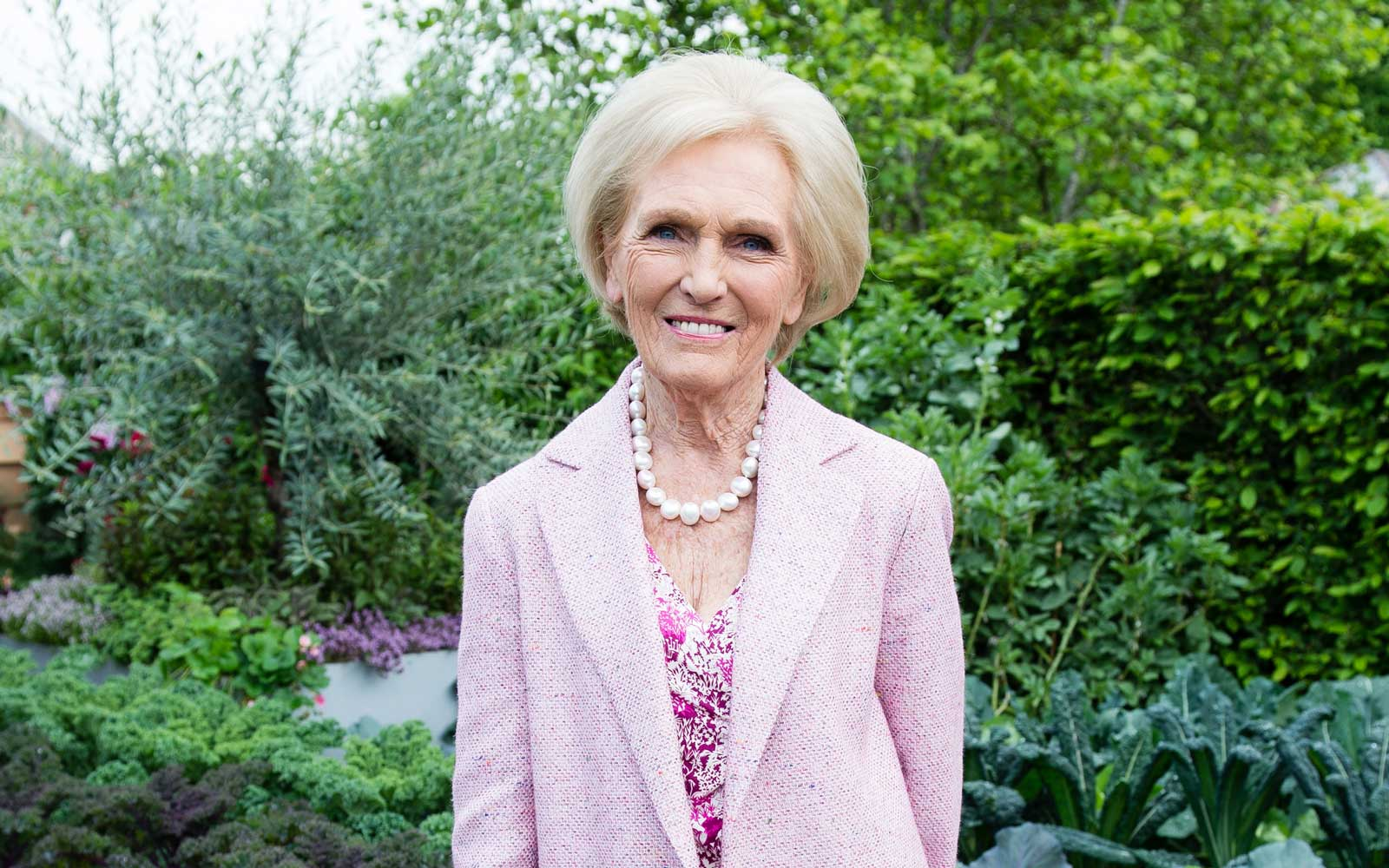 Mary Berry of Bake Off