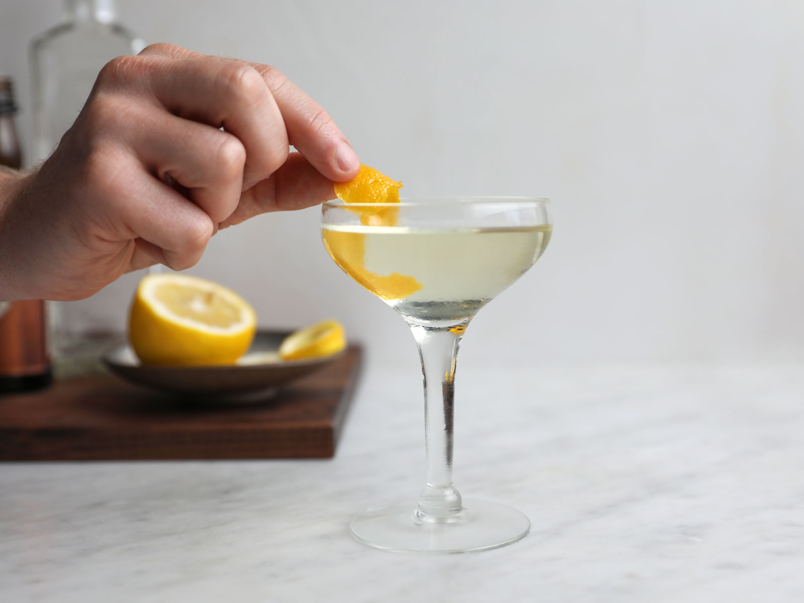 Fitty-Fitty Martini