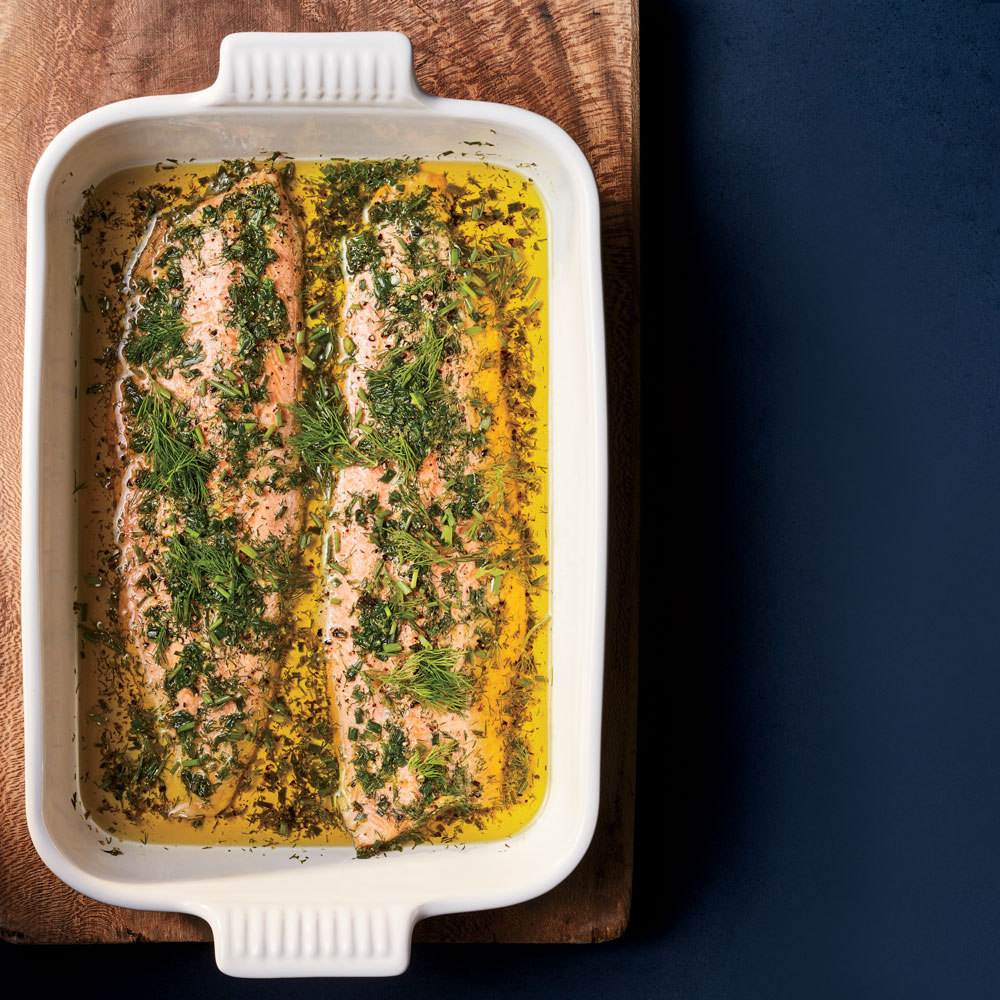 Oven-Poached Arctic Char