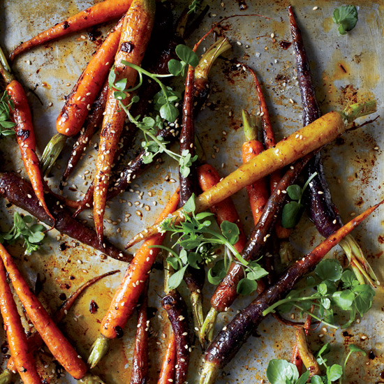 Chipotle-Roasted Baby Carrots