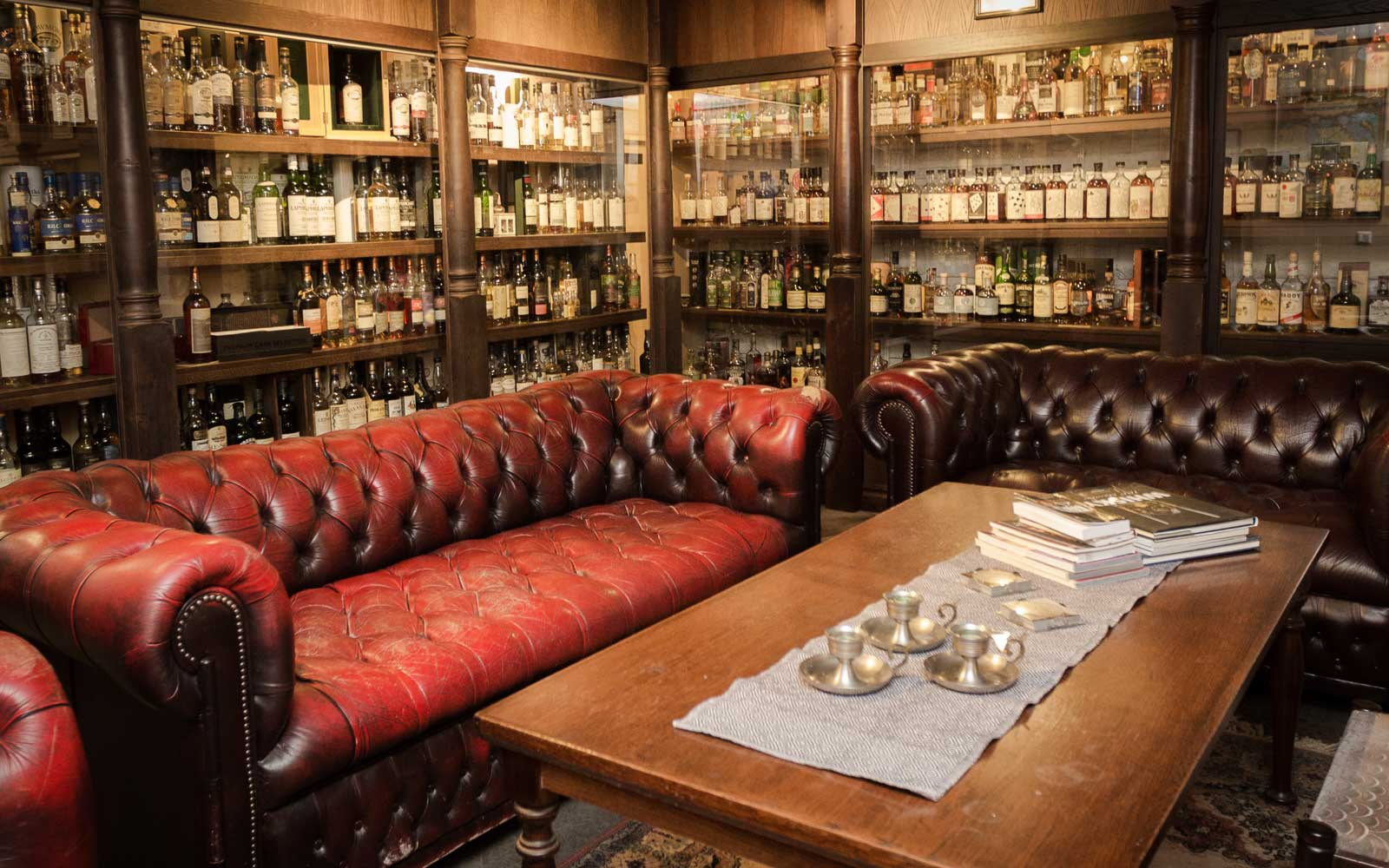 Head to Hotel Skansen's whisky basement and you'll be surrounded by thousands of bottles.