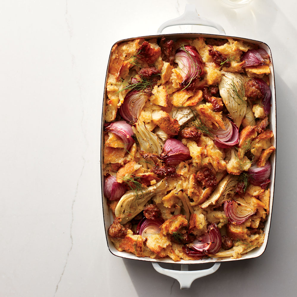 Sausage and Fennel Stuffing