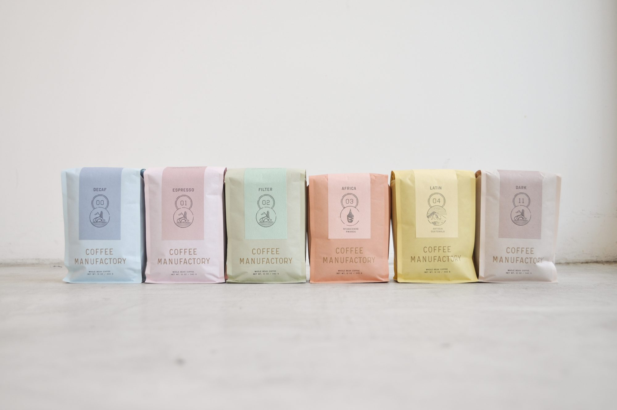 Tartine Coffee Manufactory's compostable packaging