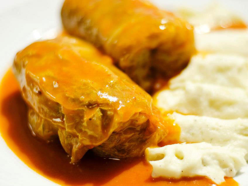Cabbage Rolls from Grbic