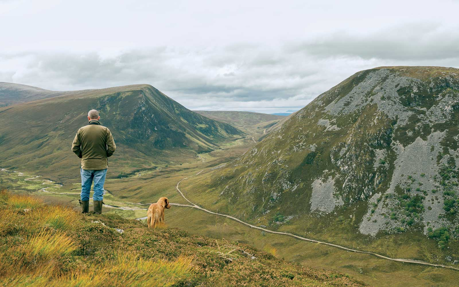 Alladale lodge and wilderness reserve in the Scottish Highlands