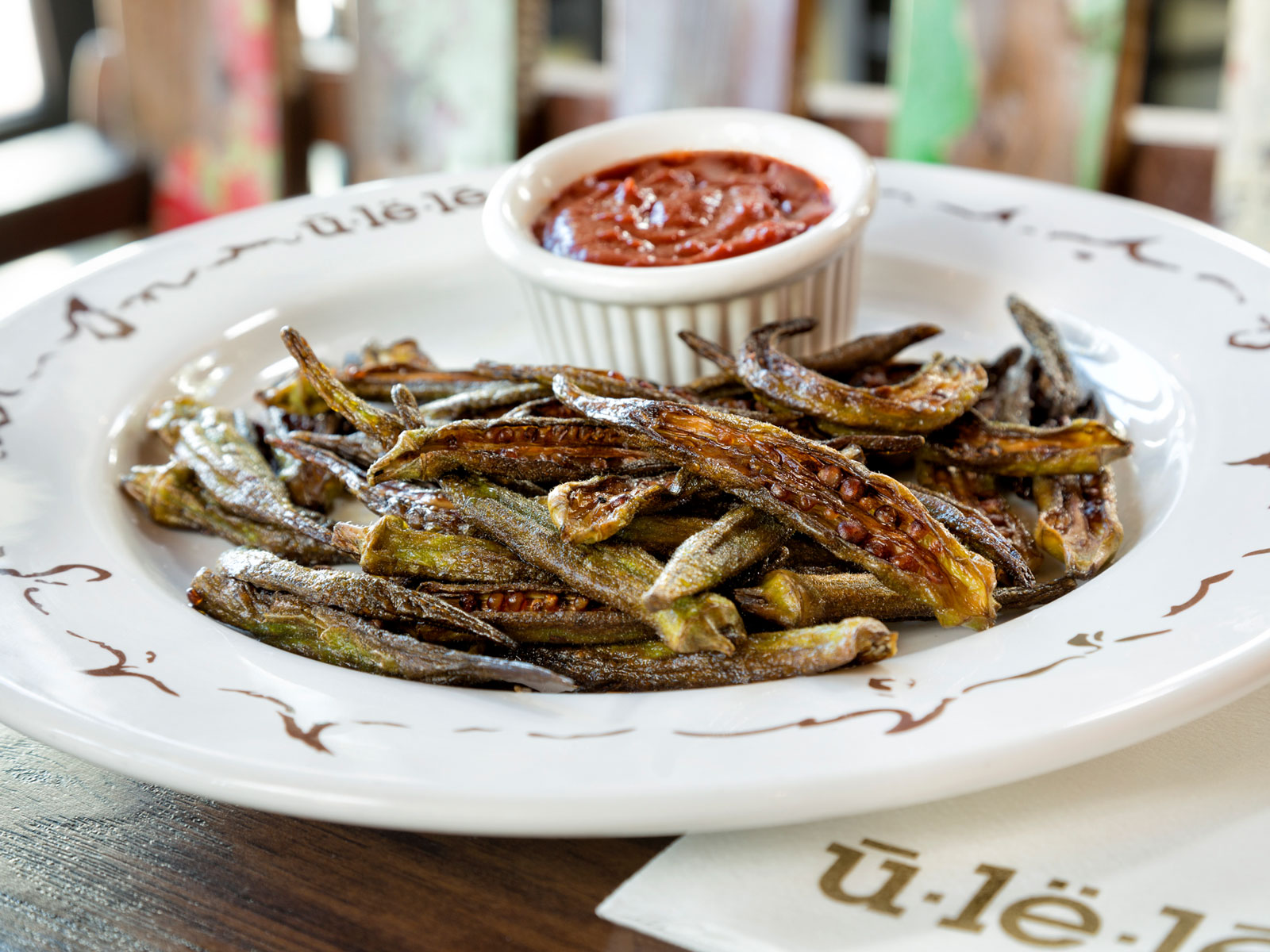 Okra Fries from Ulele