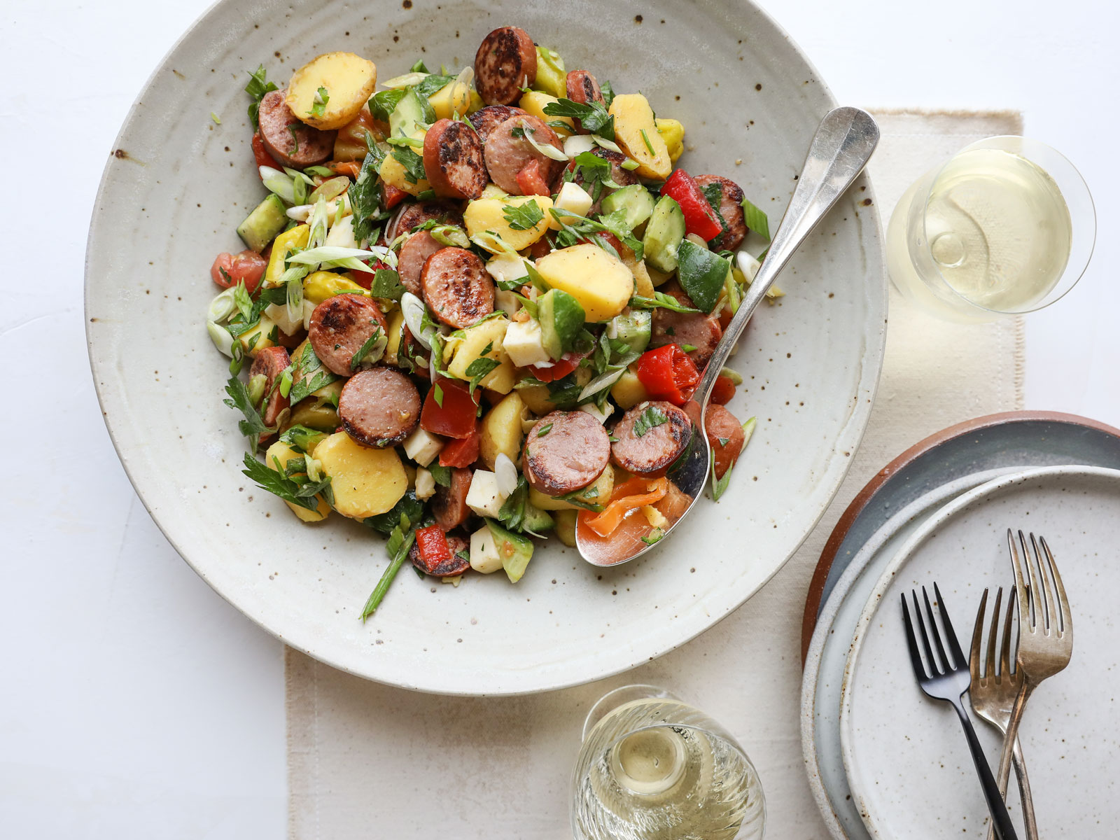 Sausage and Potato Salad