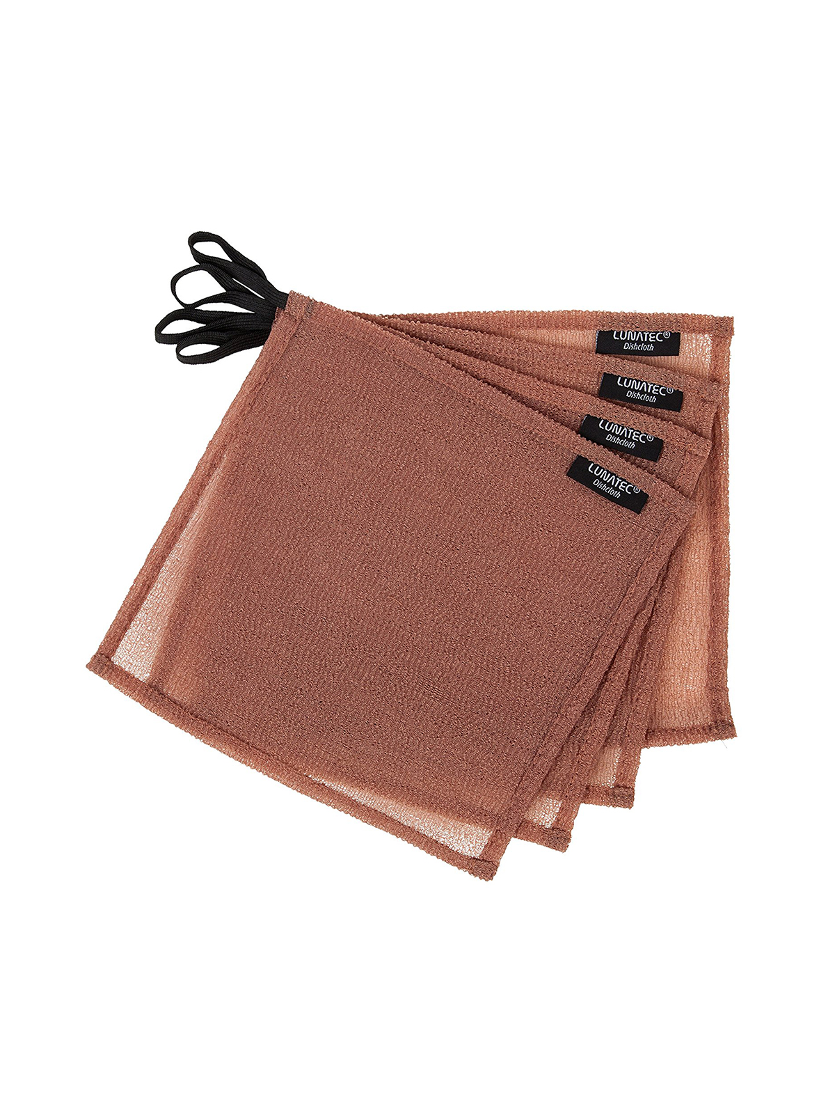 Cleaning tools, thin brown dishcloths