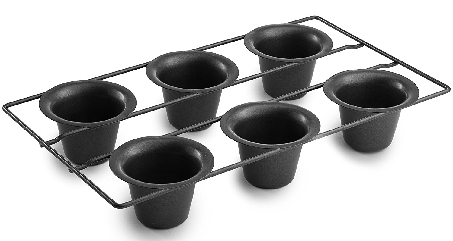Bellemain 6-Cup Nonstick Popover Pan
