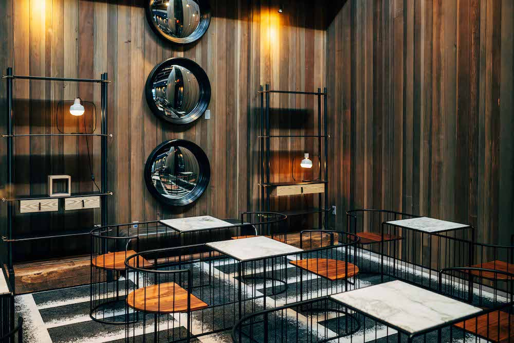 Custom Cage Seating for One-on-One Tasting and Pairing Experiences in The Prisoner Wine Company Tasting Lounge - Credit Matt Morris for TPWC.jpg