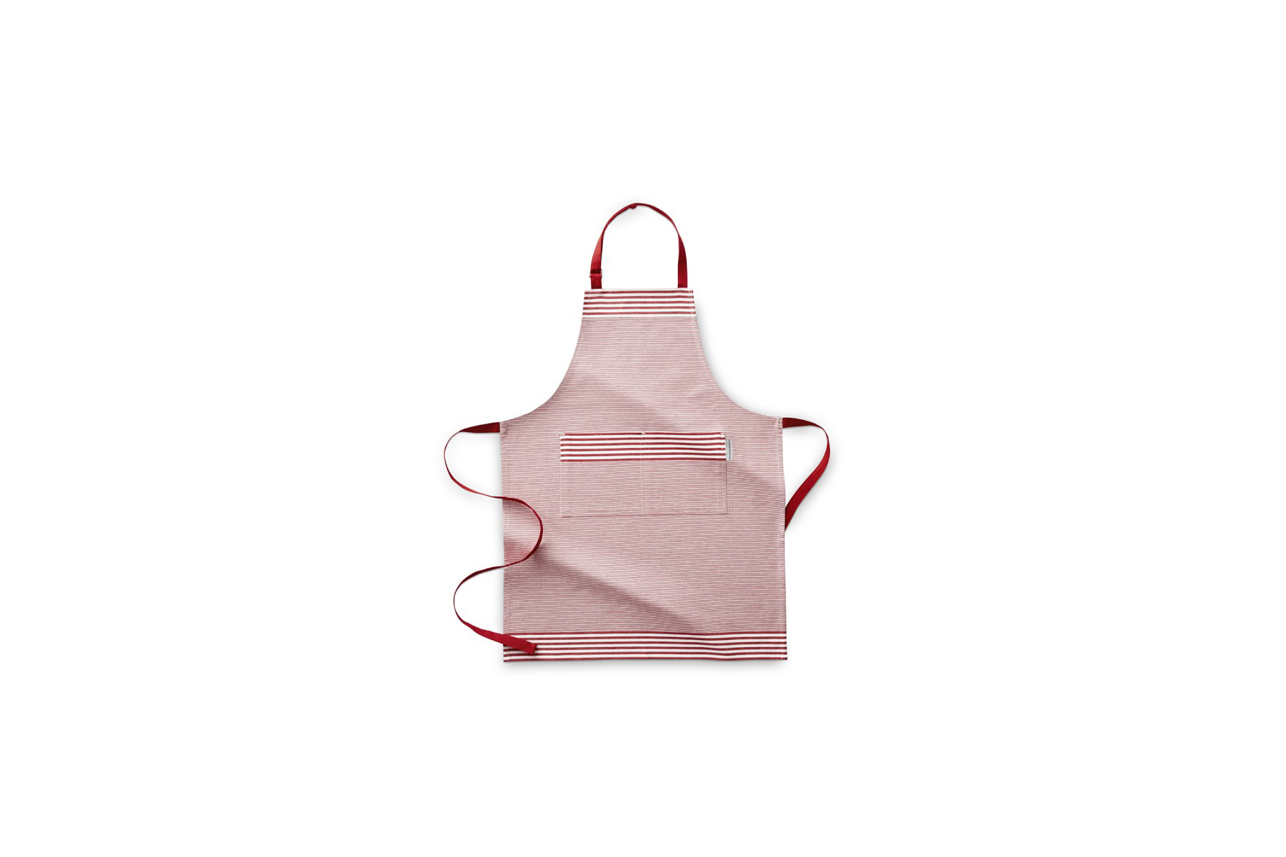 Personalized Holiday Striped Apron