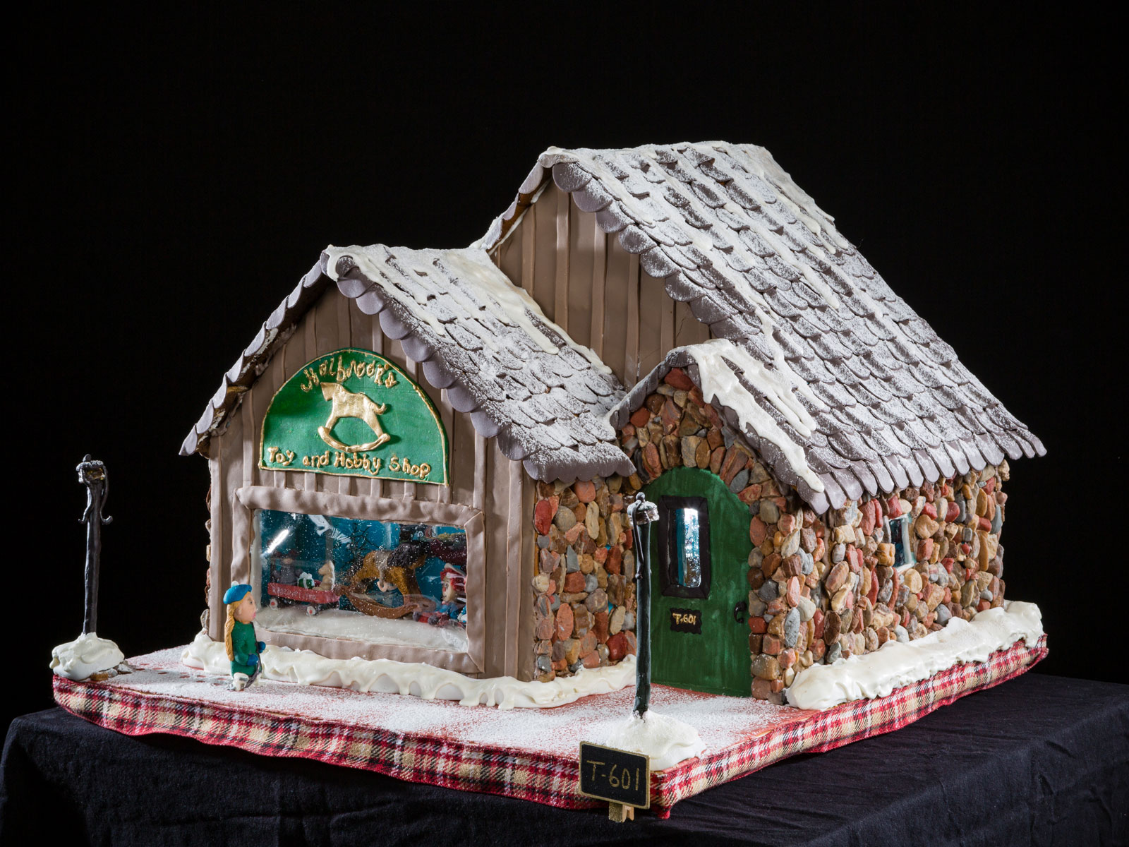 National Gingerbread House Competition Teen 3rd Place