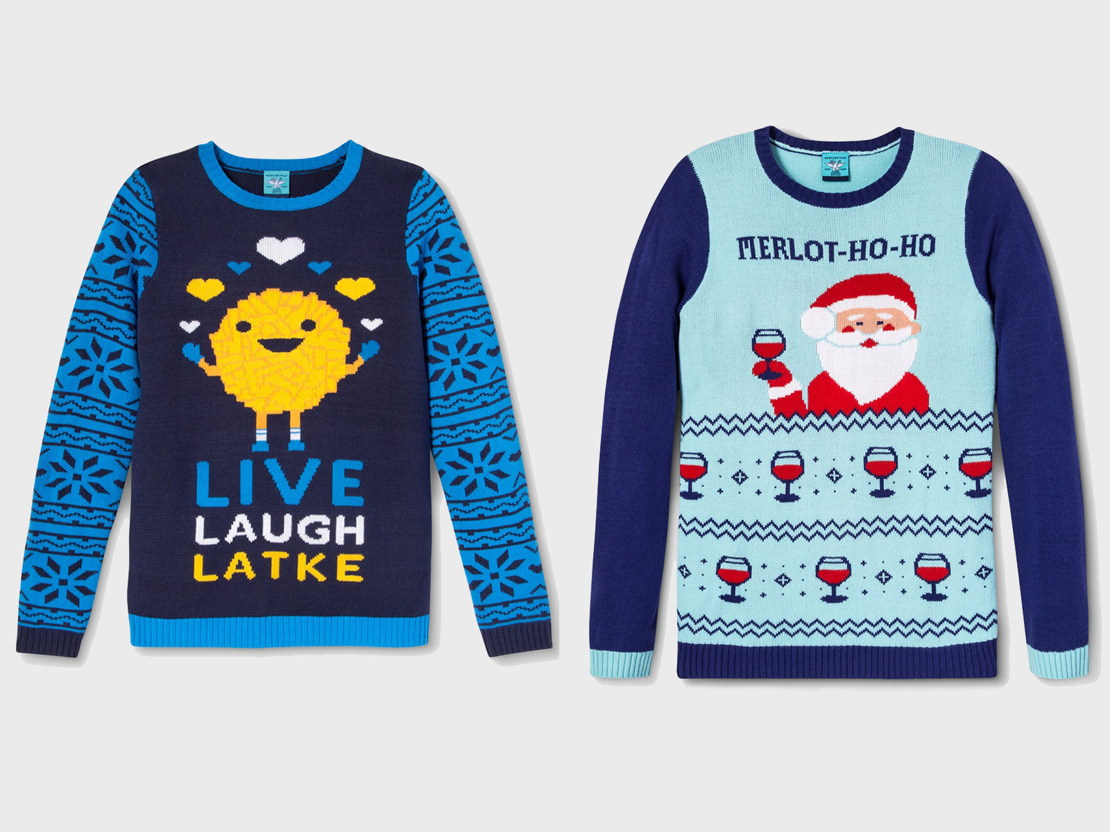 Ugly Holiday Food Sweaters