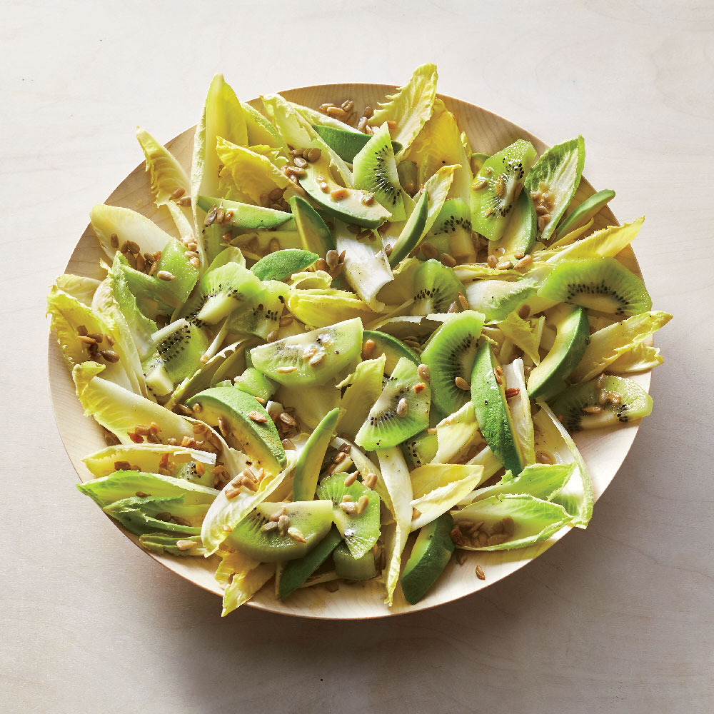 Kiwi, Avocado, and Endive Salad