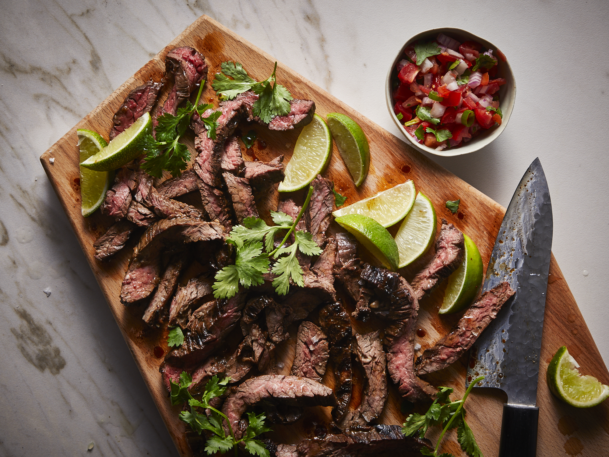 Carne Asada with Chipotle and Honey
