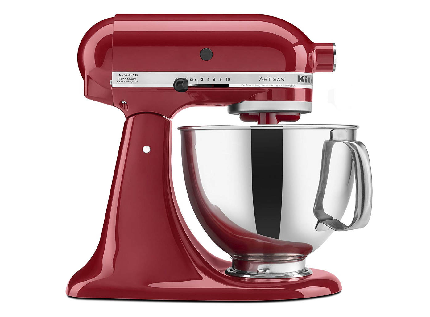 Empire Red kitchenaid mixer