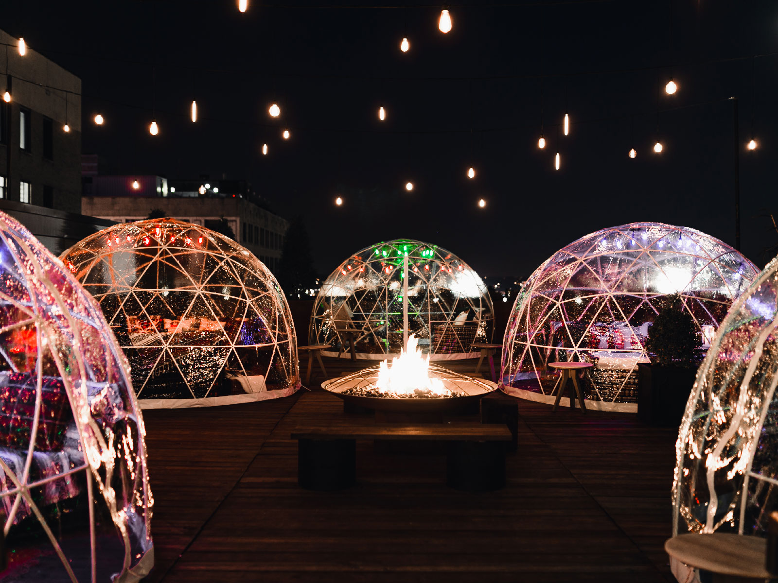 Bobby Hotel Rooftop Igloos
