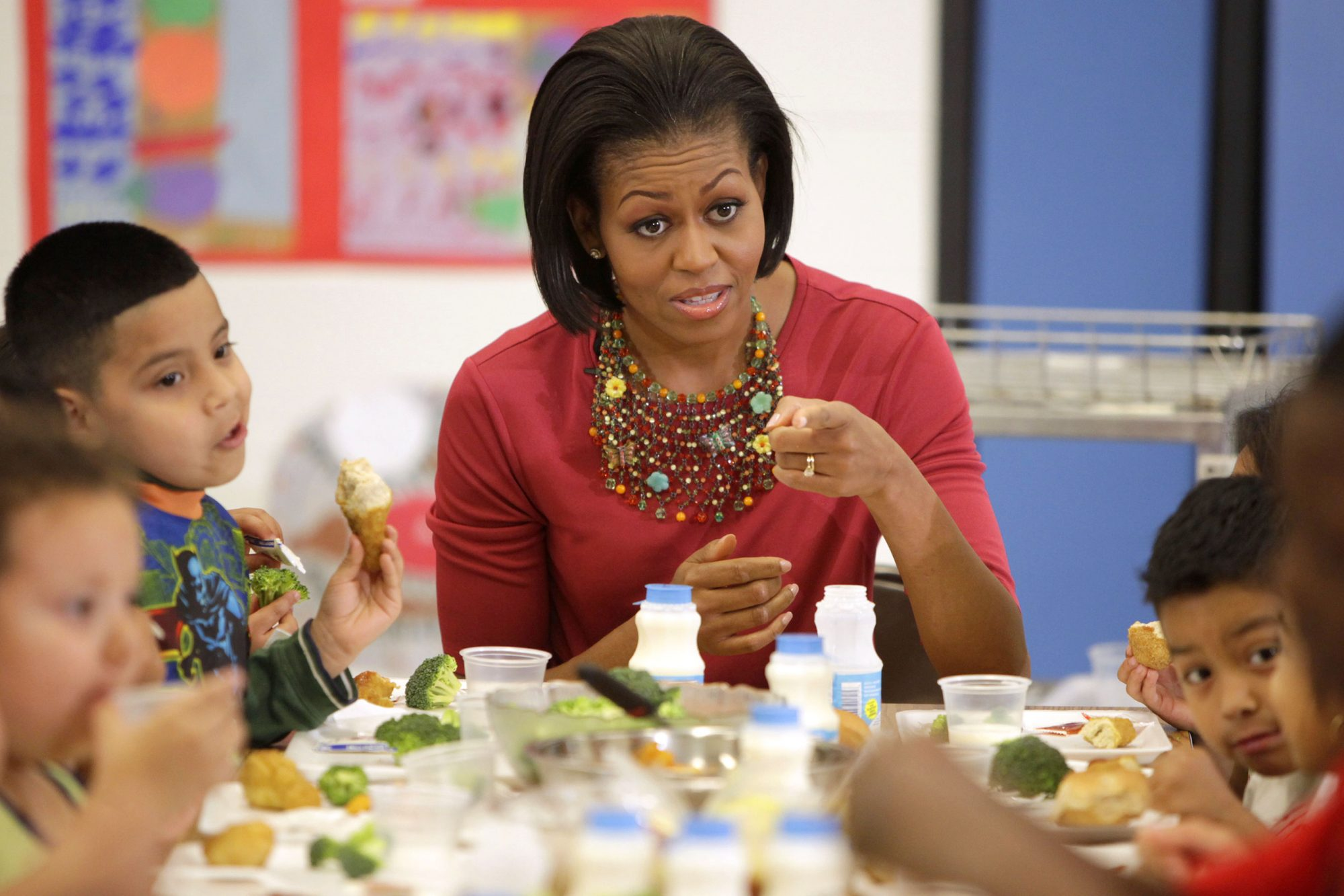 USDA Rolls Back Michelle Obama's School Lunch Regulations, Allowing More Salt and Fat