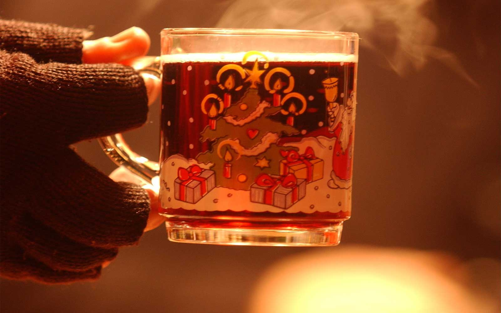 Gluehwein is Germany's version of mulled wine.