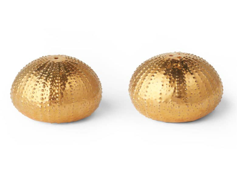 Sea Urchin Salt & Pepper Shakers