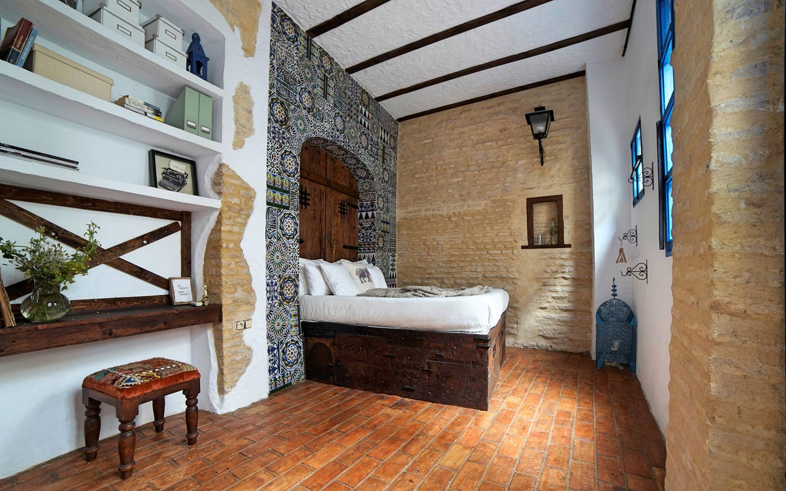 Restored 500-year-old House in Seville, Spain