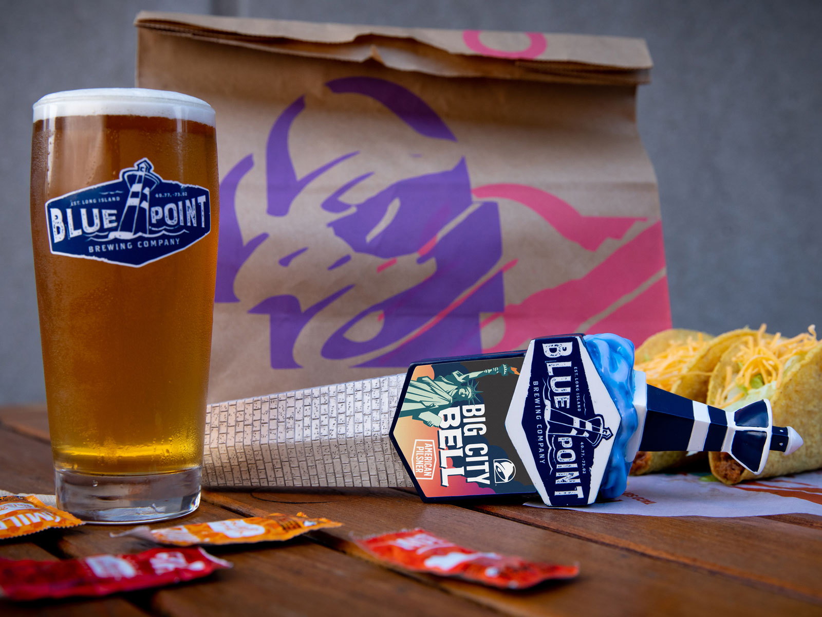 Taco Bell Big City Bell Pilsner