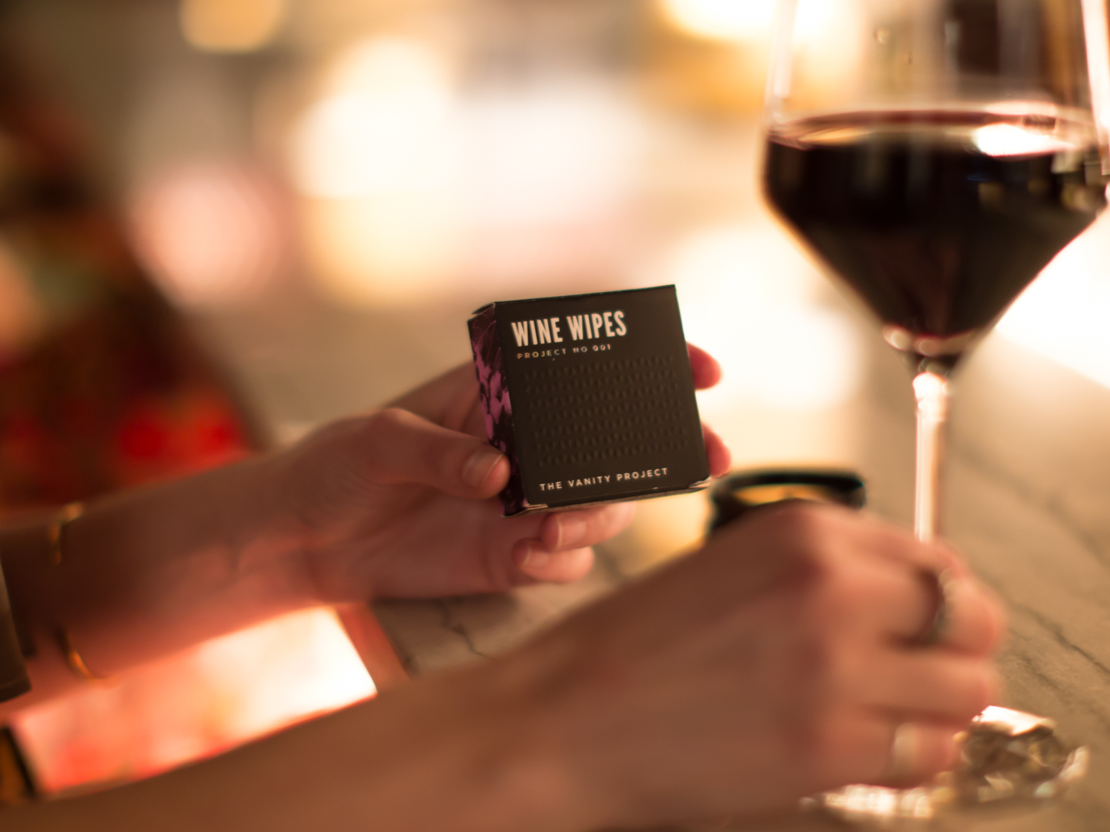Wine Wipes by The Vanity Project