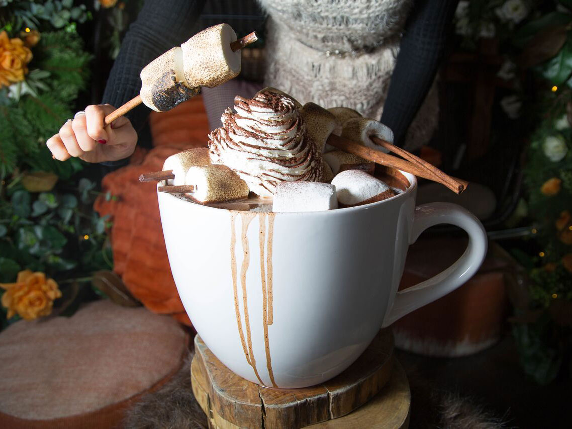 20 Pound Spiced Hot Chocolate