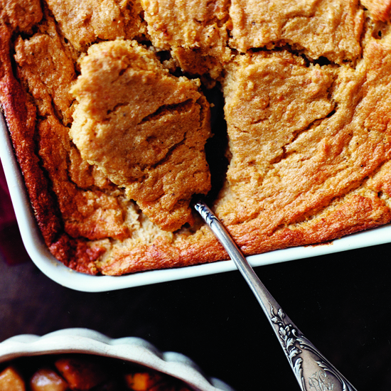 Sweet potato spoon bread