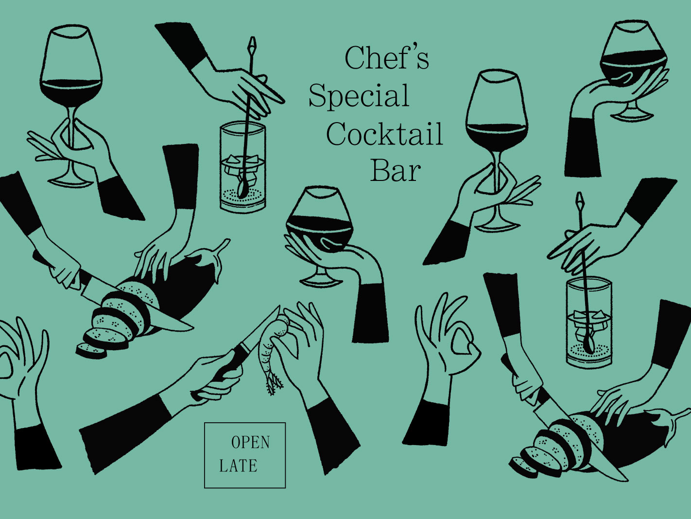 Chef's Special Cocktail Bar