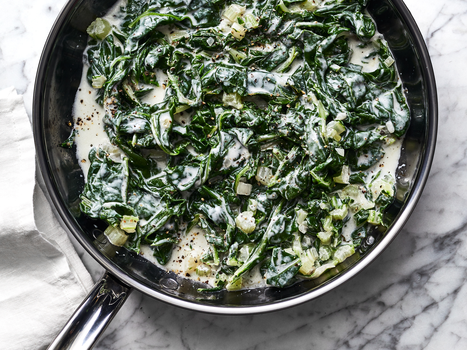 Coconut-Creamed Swiss Chard Recipe