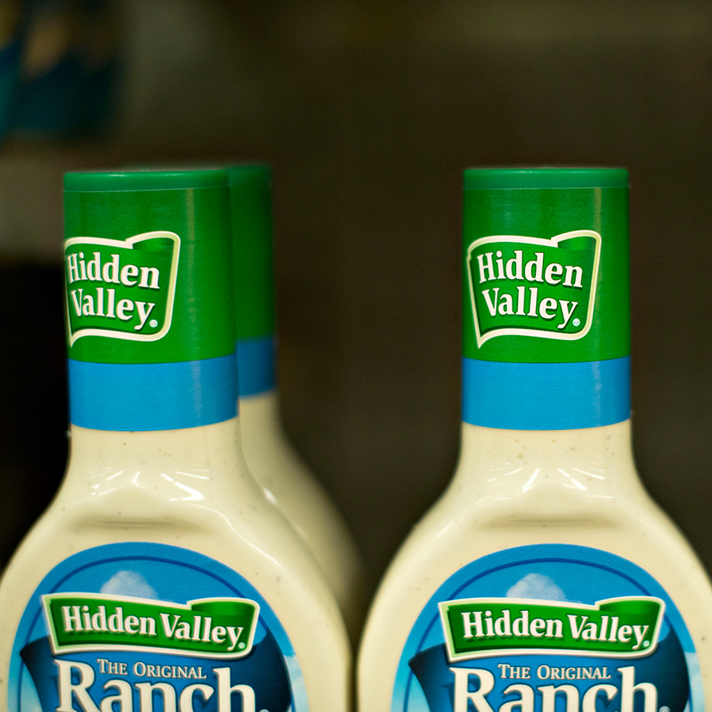 Hidden Valley Ranch, salad dressing