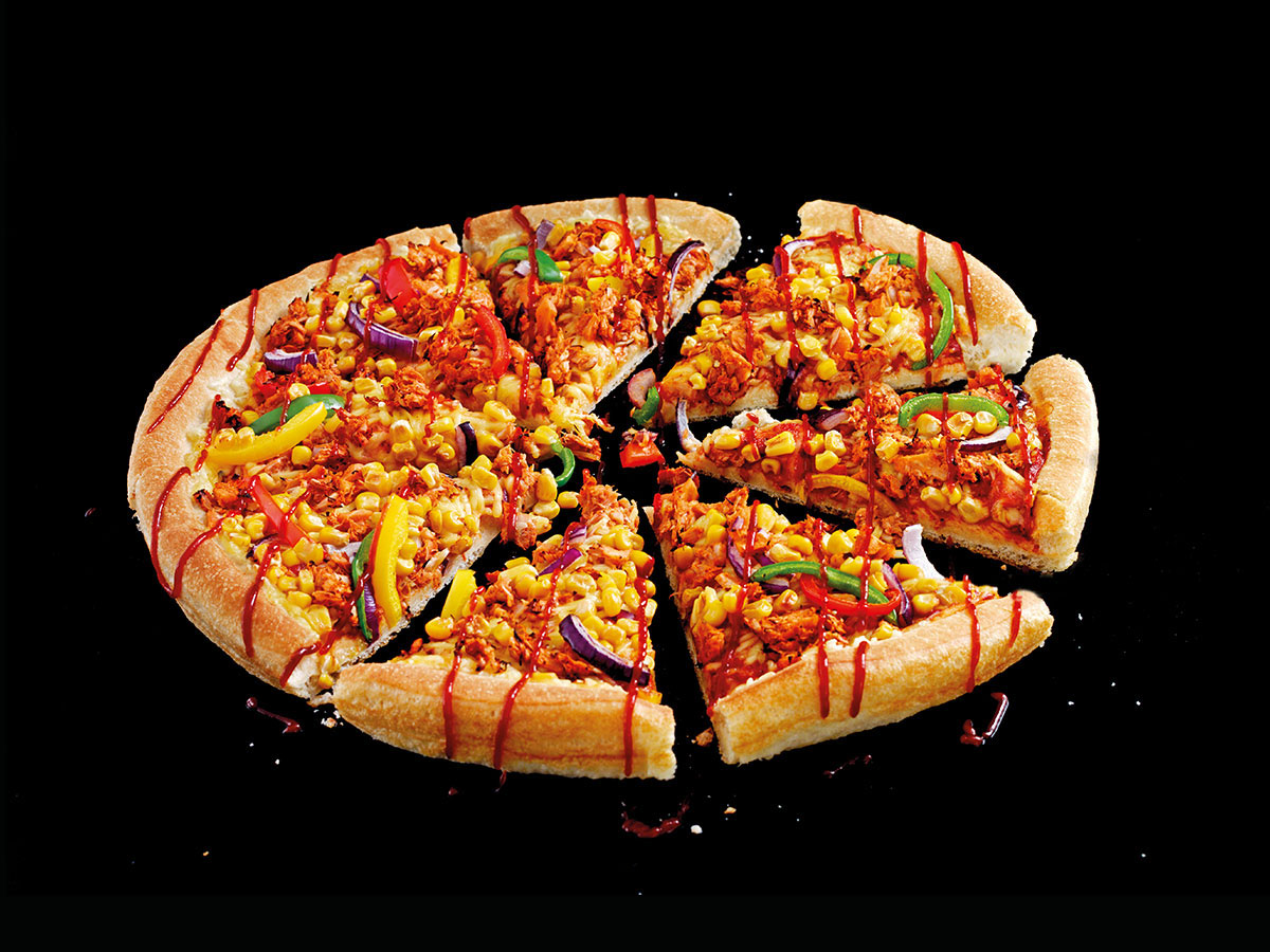 Pizza Hut Vegan Jackfruit Pizza