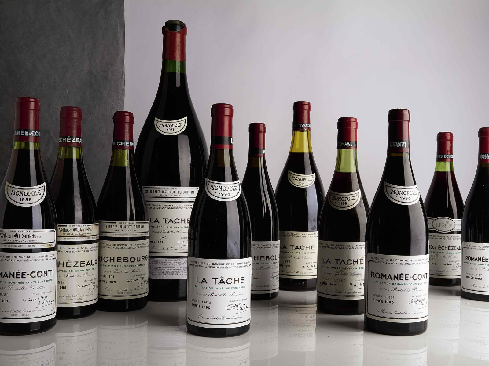 Sotheby's Transcendent  Wines Auction