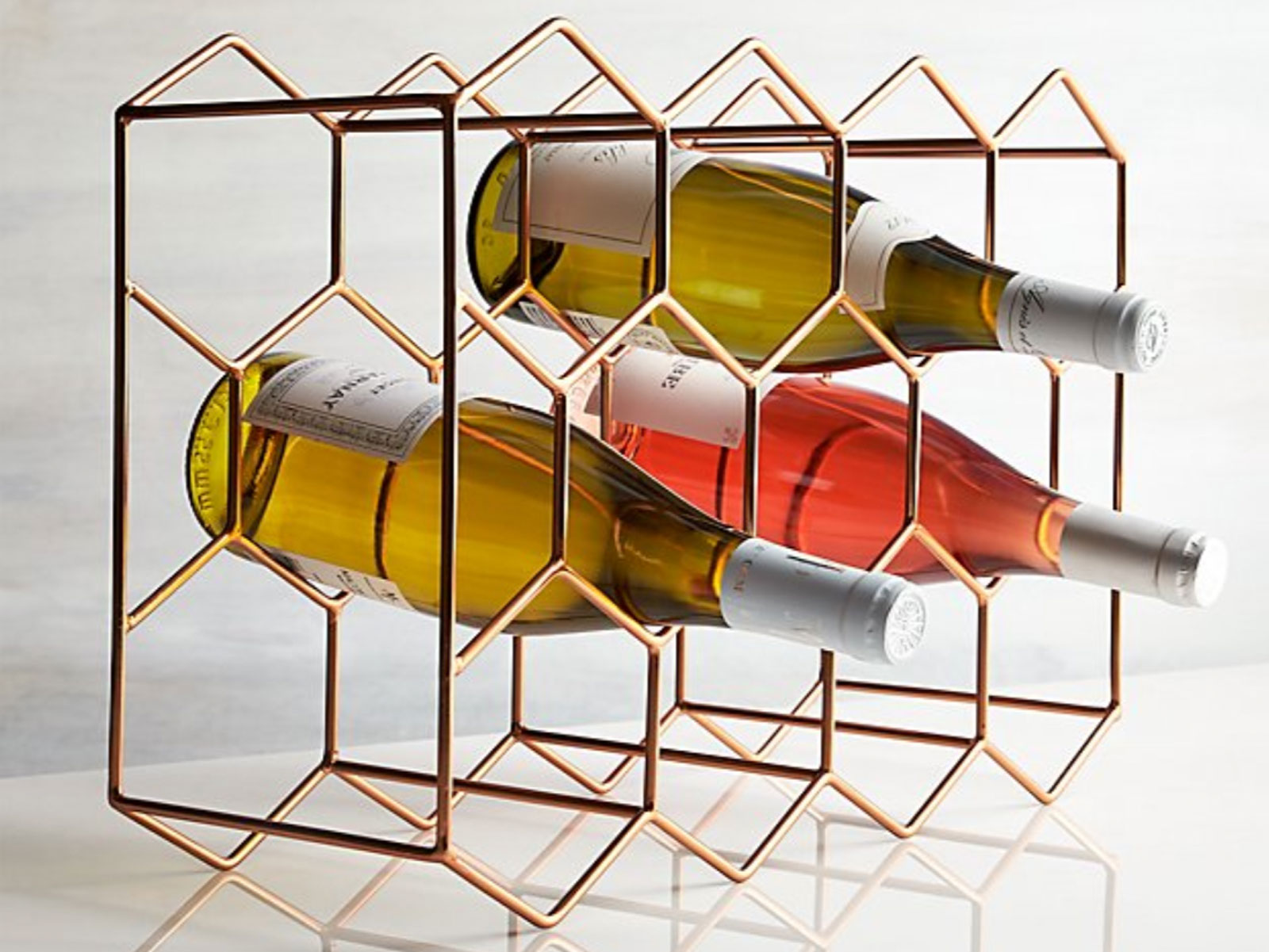 Crate & Barrel wine rack