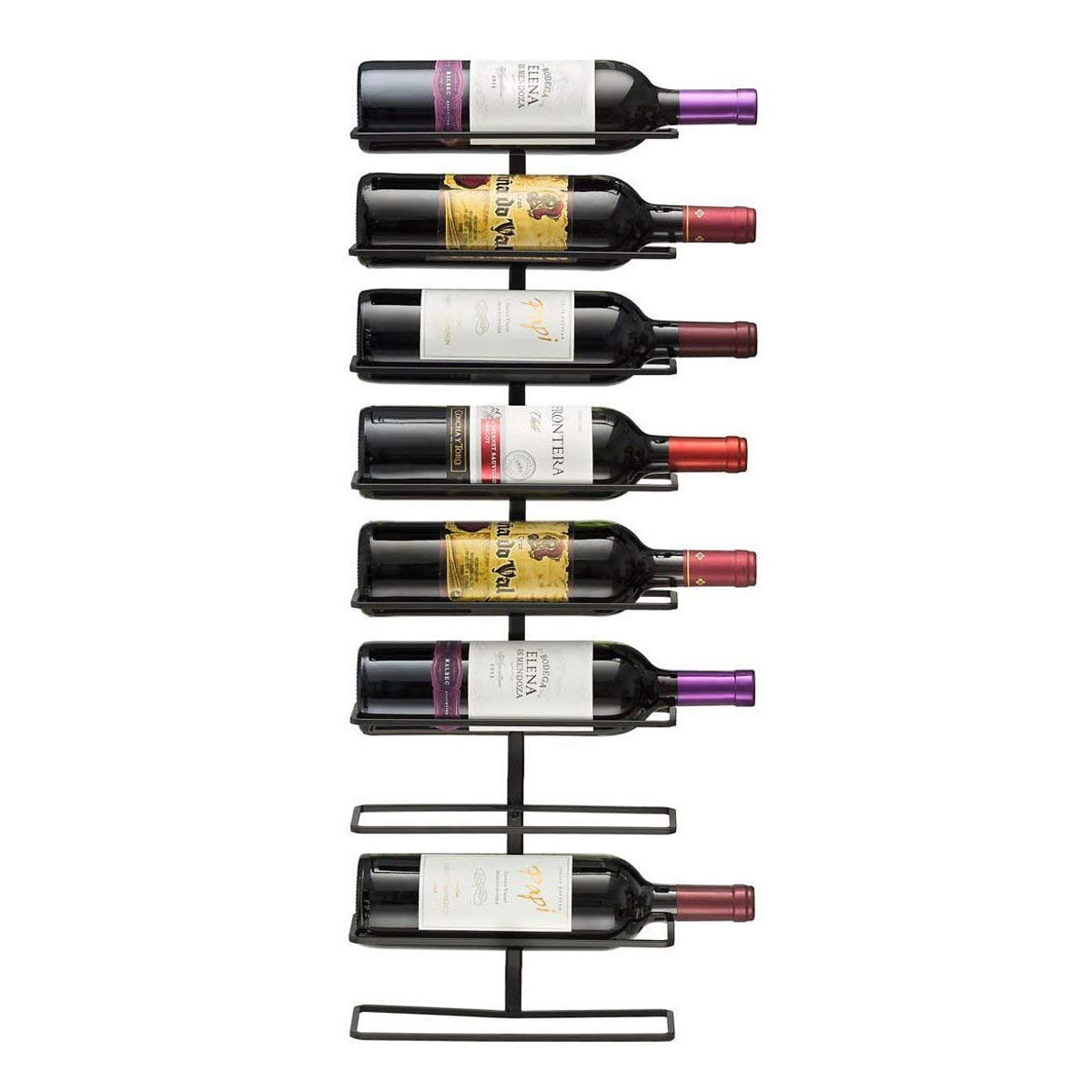 wall wine rack amazon