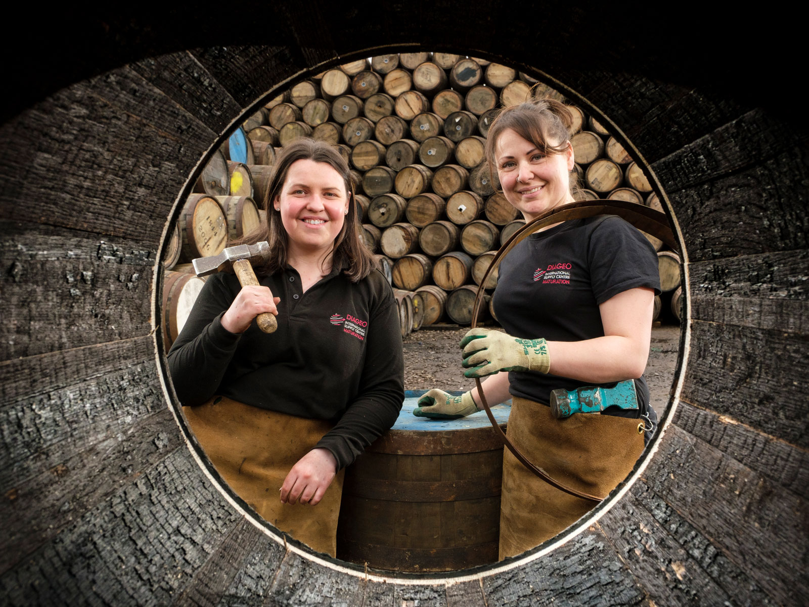Diageo female coopers