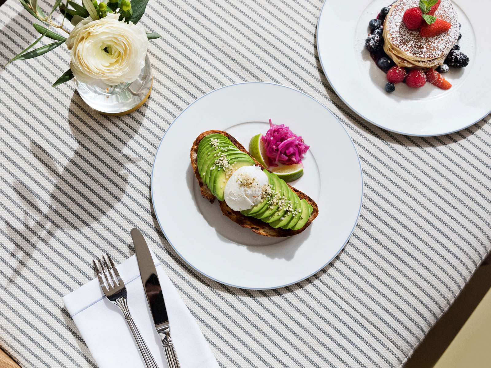 Malibu Farms avocado toast